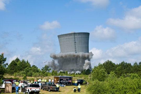 Η εντυπωσιακή κατεδάφιση του K Cooling Tower