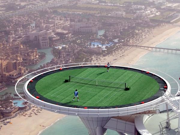 Το υψηλότερο γήπεδο τέννις!