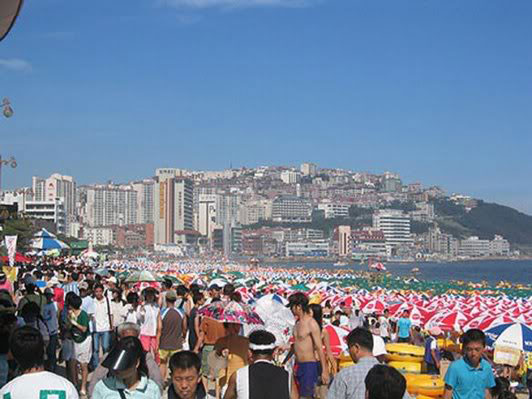 Haeundae - παραλια Κορεα