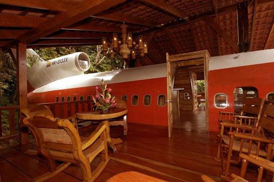 Εξωτικό ξενοδοχείο αεροπλάνο