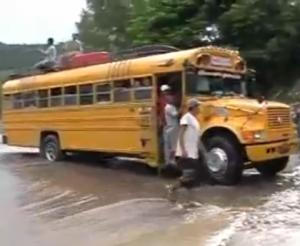 Τρελοί οδηγοί λεωφορείων στη Νικαράγκουα