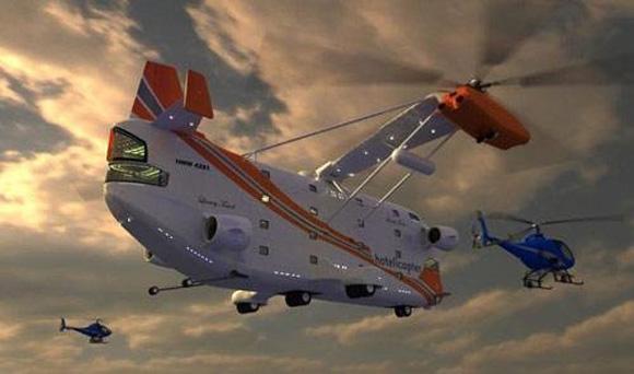 Ελικόπτερο πέντε αστέρων ...