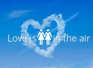 Η SAS προγραματίζει γάμο ομοφυλόφυλων στον αέρα