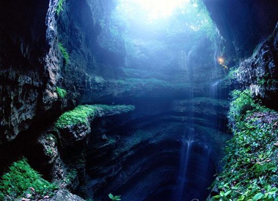 perierga.gr - Η φωλιά των χελιδονιών
