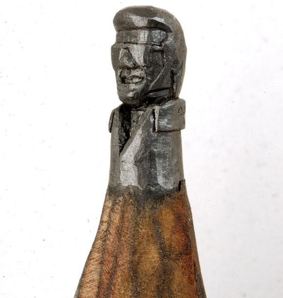 Perierga.gr - Γλυπτά από μολύβια