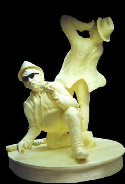perierga.gr - Αγάλματα από βούτυρο