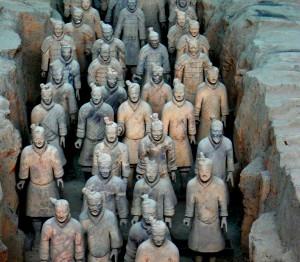 Terracota Army, ο παράξενος στρατός του αυτοκράτορα