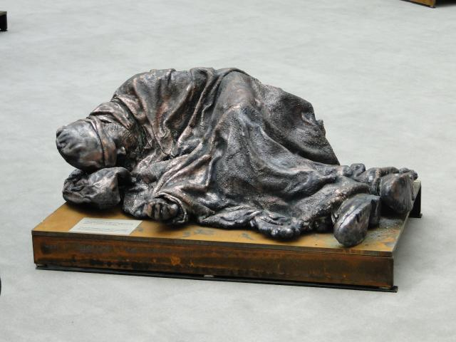 άγαλμα αστέγου