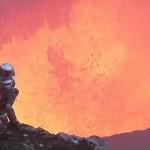 Μέσα στον κρατήρα ενός ηφαιστείου!