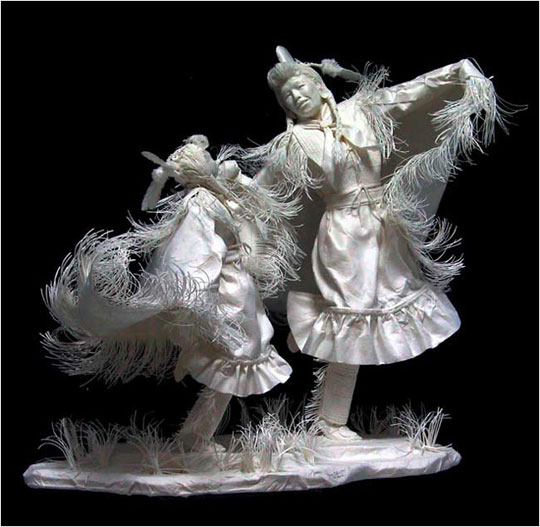perierga.gr - Sculptures of paper