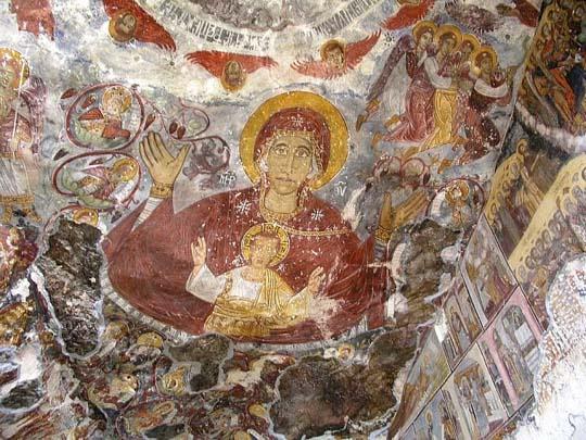 Perierga.gr - Το μοναστήρι της Παναγίας Σουμελά