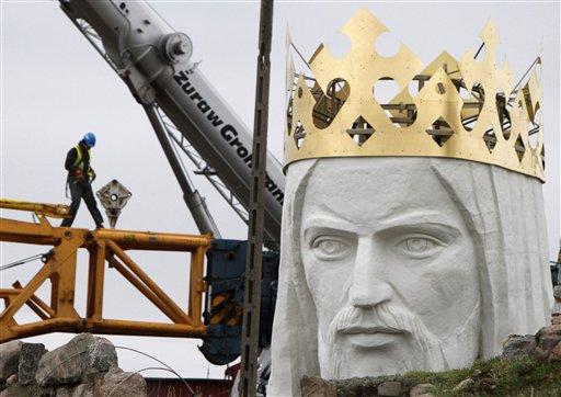 Στην Πολωνία το μεγαλύτερο άγαλμα του Ιησού στον κόσμο