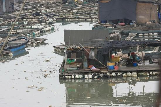 Sanduao, Η πόλη που επιπλέει