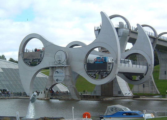 Perierga.gr - Ο τροχός του Falkirk