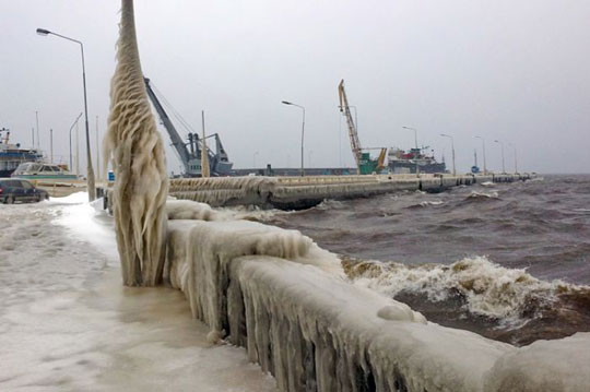 Perierga.gr - Ο χειμώνας του Petrozavodsk
