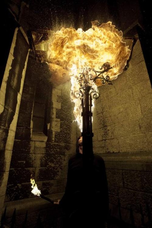 Perierga.gr - Φωτογραφίζοντας τη φωτιά