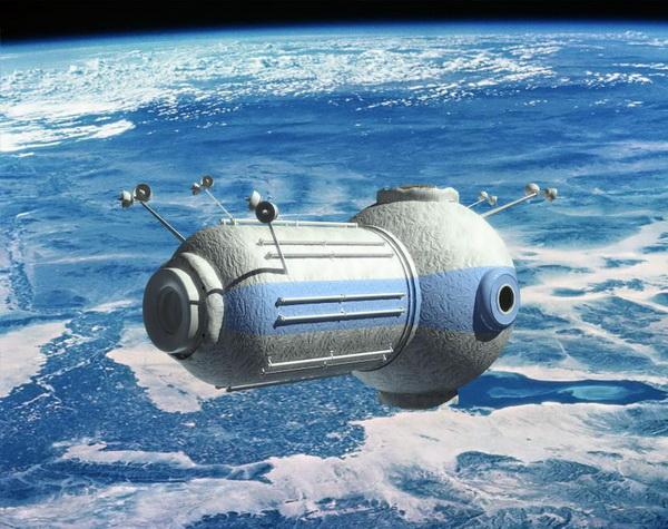 Ξενοδοχείο στο διάστημα!
