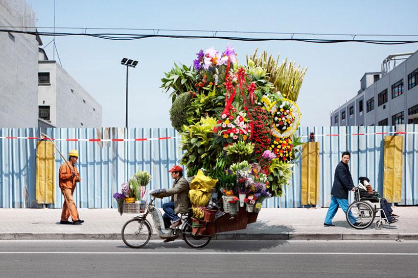 Μεταφορές στην κίνα με τέχνη και στυλ