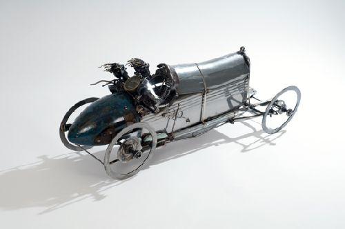 Perierga.gr - Τέχνη από εξαρτήματα αυτοκινήτων!