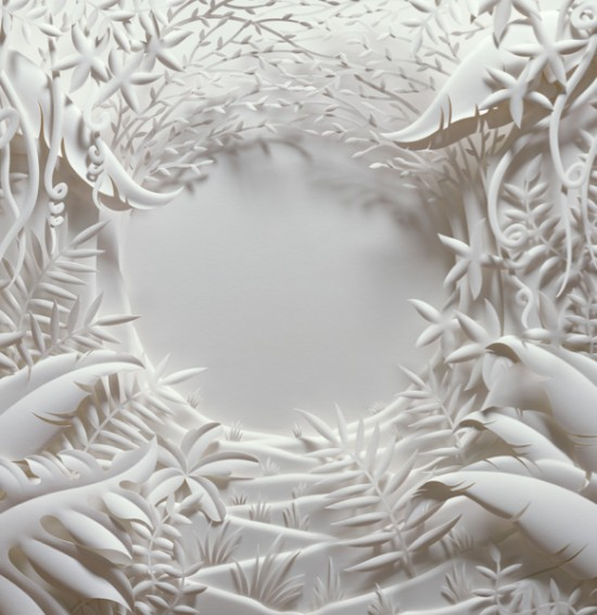 Perierga.gr - Beautiful paper sculptures