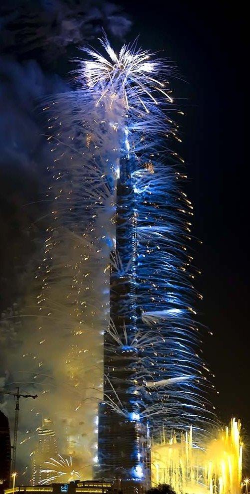Perierga.gr - Τα εγκαίνια του ψηλότερου κτηρίου στον κόσμο!