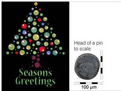 Η μικρότερη χριστουγεννιάτικη κάρτα του κόσμου