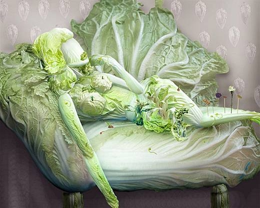 Perierga.gr - Art with ...  cabbage