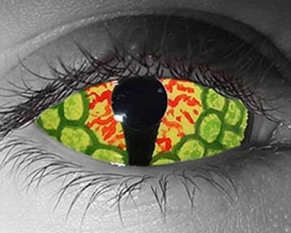 - Περίεργα μάτια...!