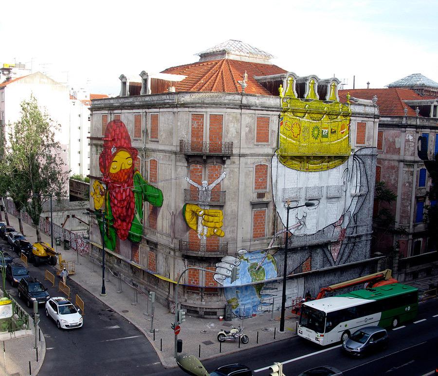 Perierga.gr - Εντυπωσιακό γκράφιτι