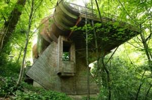 Το... πολυτελές σπίτι στο δάσος