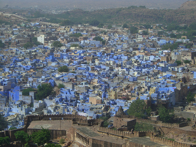 Η μπλε πόλη της Ινδίας!