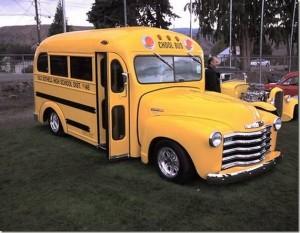 Περίεργα σχολικά λεωφορεία