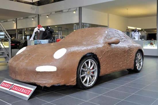 Perierga.gr - Αυτοκίνητα από σοκολάτα!