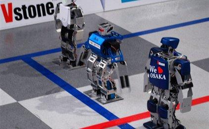 Perierga.gr - Μαραθώνιος ρομπότ