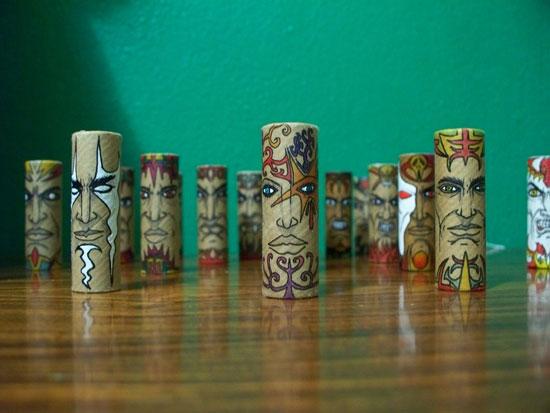 Perierga.gr - Εντυπωσιακές φιγούρες σε ρολά χαρτιού!