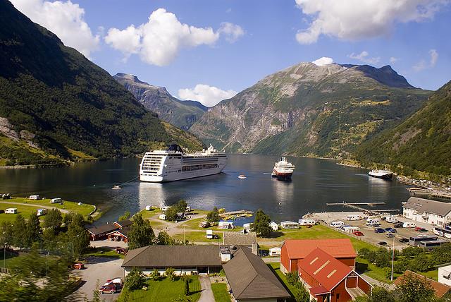 Πανέμορφο νορβηγικό φιόρδ