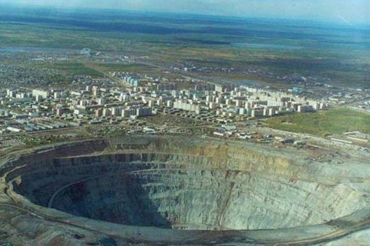 Perierga.gr - Το ορυχείο διαμαντιών Mirny