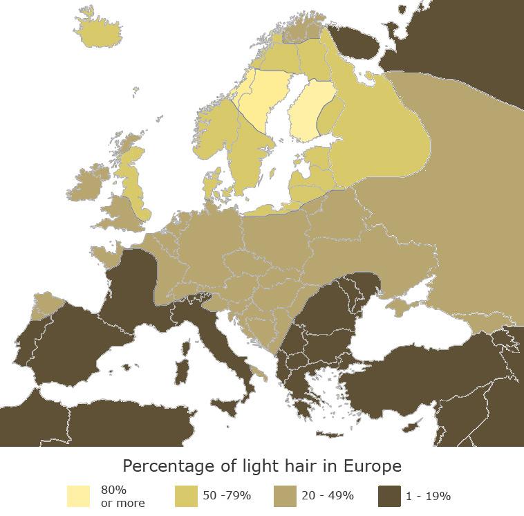 Perierga.gr - Που να βρείτε ξανθιές στην Ευρώπη