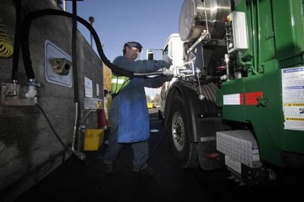 Perierga.gr - Τα σκουπιδιάρικα της Καλιφόρνια κινούνται με... σκουπίδια