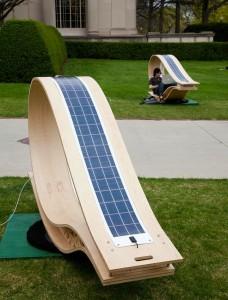 Πρωτοποριακές ηλιακές ξαπλώστρες