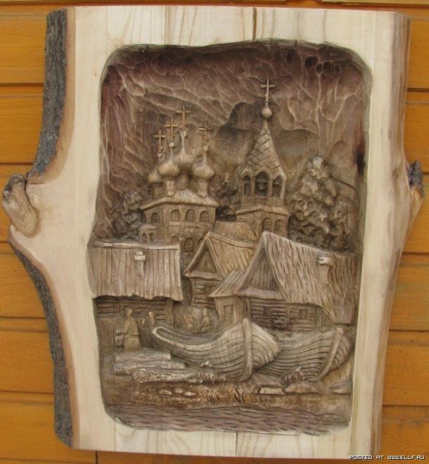 Τέχνη σε ξύλο!