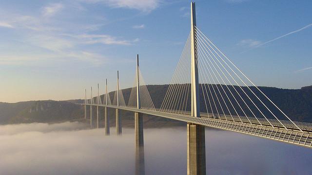 Millau bridge: h ψηλότερη γέφυρα στον κόσμο