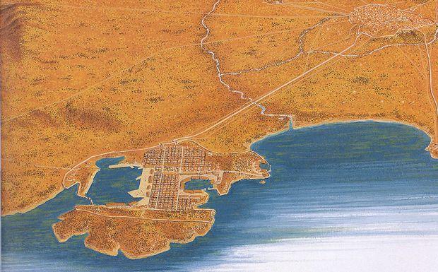 Perierga.gr - Ο Πειραιάς ήταν νησί!