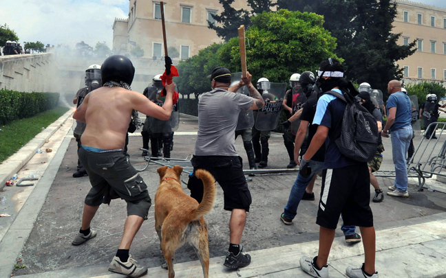 Perierga.gr - Ο Αγανακτισμένος Λουκάνικος