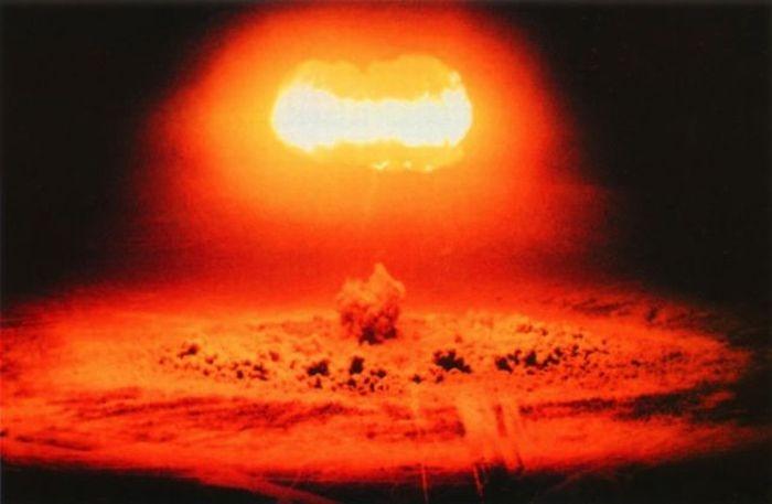 Φωτογραφίες από πυρηνικές εκρήξεις
