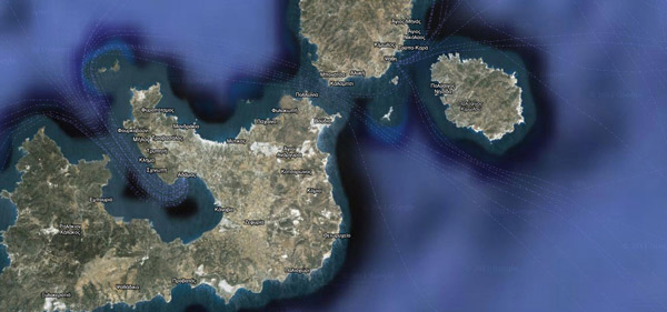 Tο μεγαλύτερο ακατοίκητο νησί του Αιγαίου
