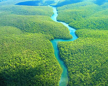 Perierga.gr - Υπόγειο ποτάμι ρέει κάτω από τον Αμαζόνιο