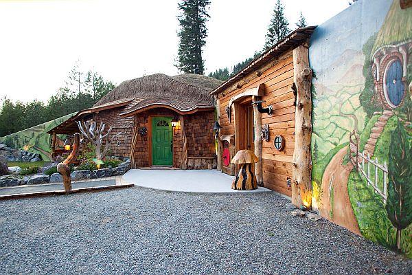Perierga.gr - Ξενώνας για Hobbit...