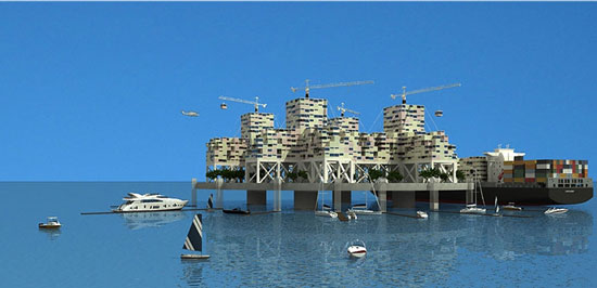 Perierga.gr - Πλωτή, αυτόνομη και ανεξάρτητη πόλη
