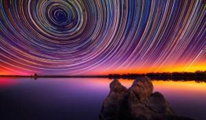Μαγευτικός συνδυασμός λήψεων από τον έναστρο ουρανό